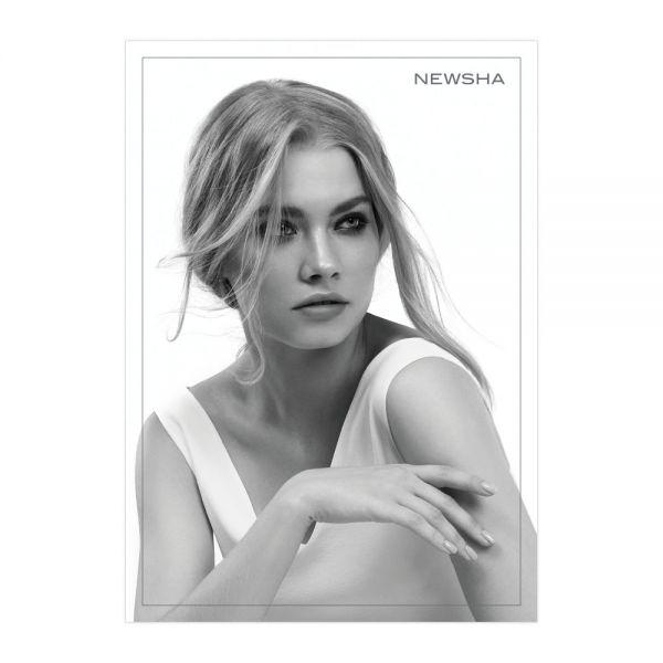 NEWSHA Plakat Blonde BW